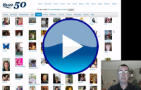 Social networking over 50 for seniors video