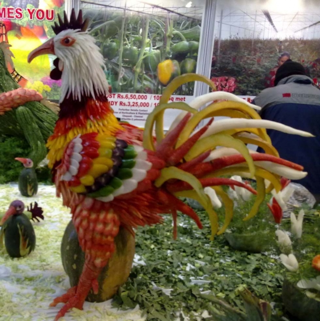 Fruit vegetable carvings contributions welcome page over