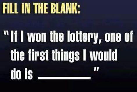 If i won the lottery essay